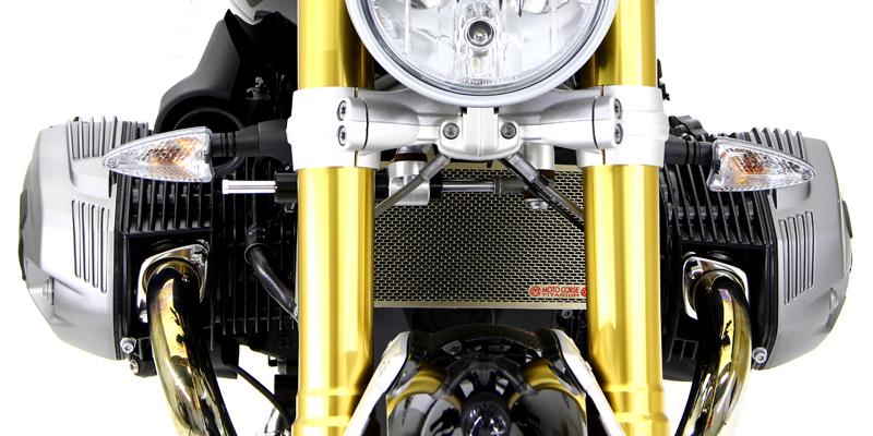 新品 チタニウムプロテクションスクリーン ラジエター for BMW R nineT / RnineT RACER / RnineT SCRAMBLER / RnineT PURE_画像4