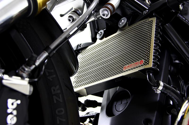 新品 チタニウムプロテクションスクリーン ラジエター for BMW R nineT / RnineT RACER / RnineT SCRAMBLER / RnineT PURE_画像5
