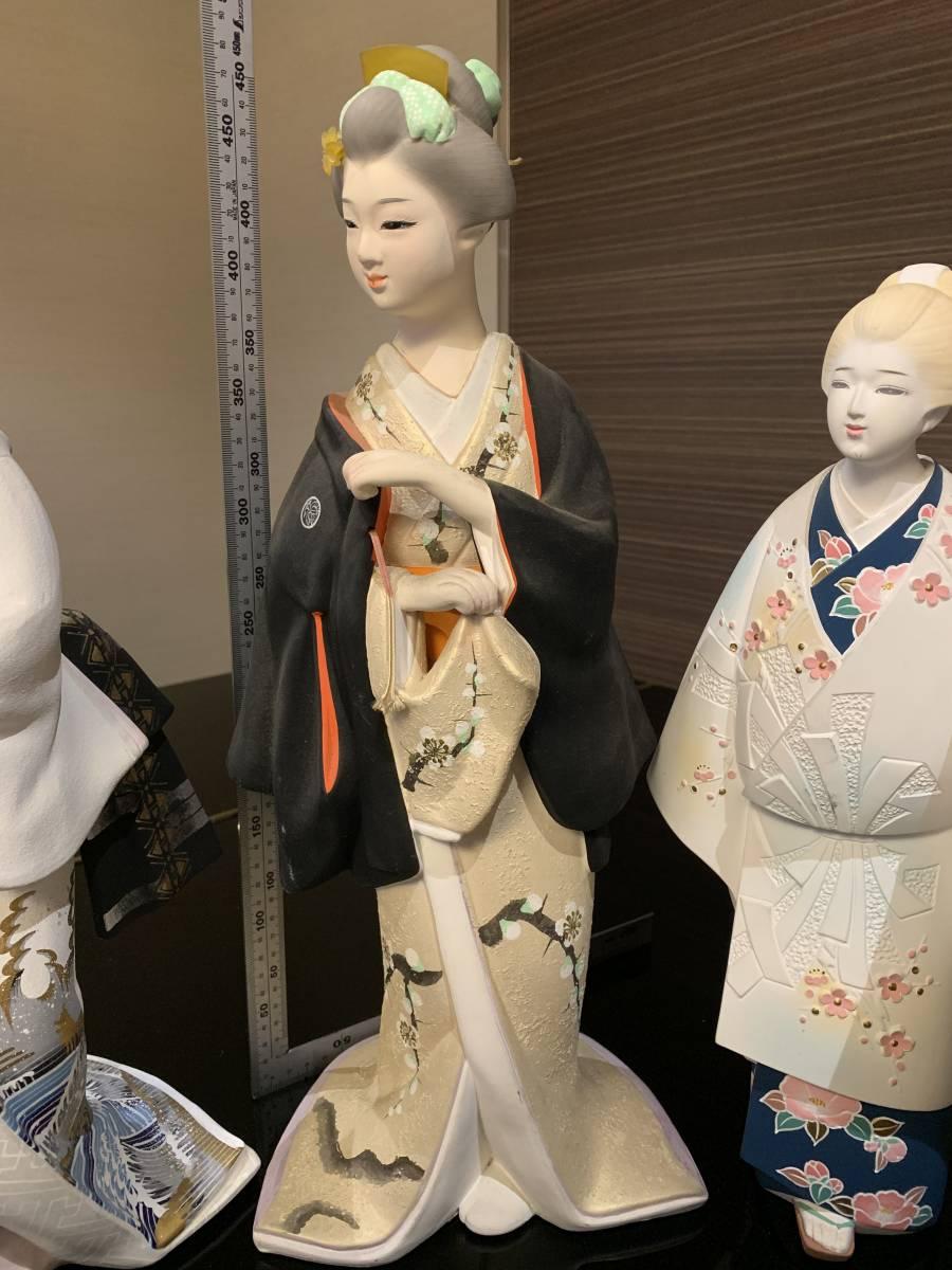 日本人形 博多人形だと思います 「行春」他、おまとめ 欠損・ダメージ有ります <ジャンク>_画像5