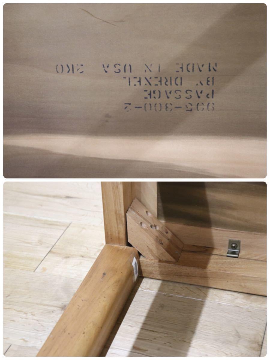 gmch197C ○ DREXEL HERITAGE / ドレクセルヘリテイジ Passage エンドテーブル サイドテーブル 花台 コンソール アメリカ アンティーク_画像10