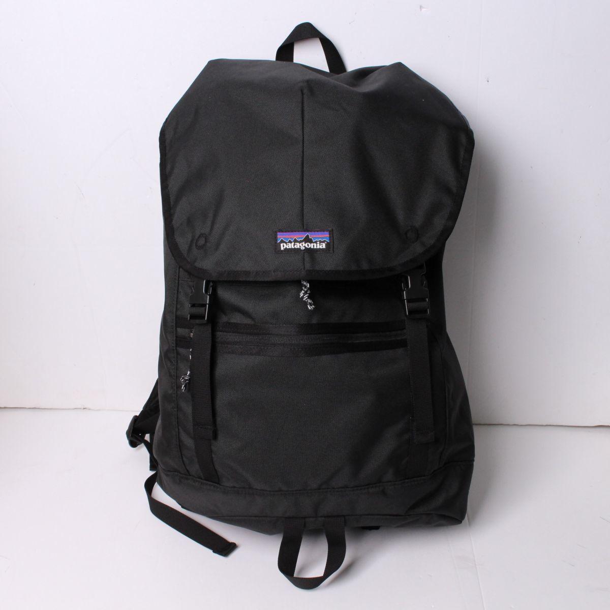 新品 未使用 正規品 pantagonia パタゴニア リュック 25L Arbor Classic Pack バックパック 鞄 デイパック ブラック キャンプ 登山 r015206