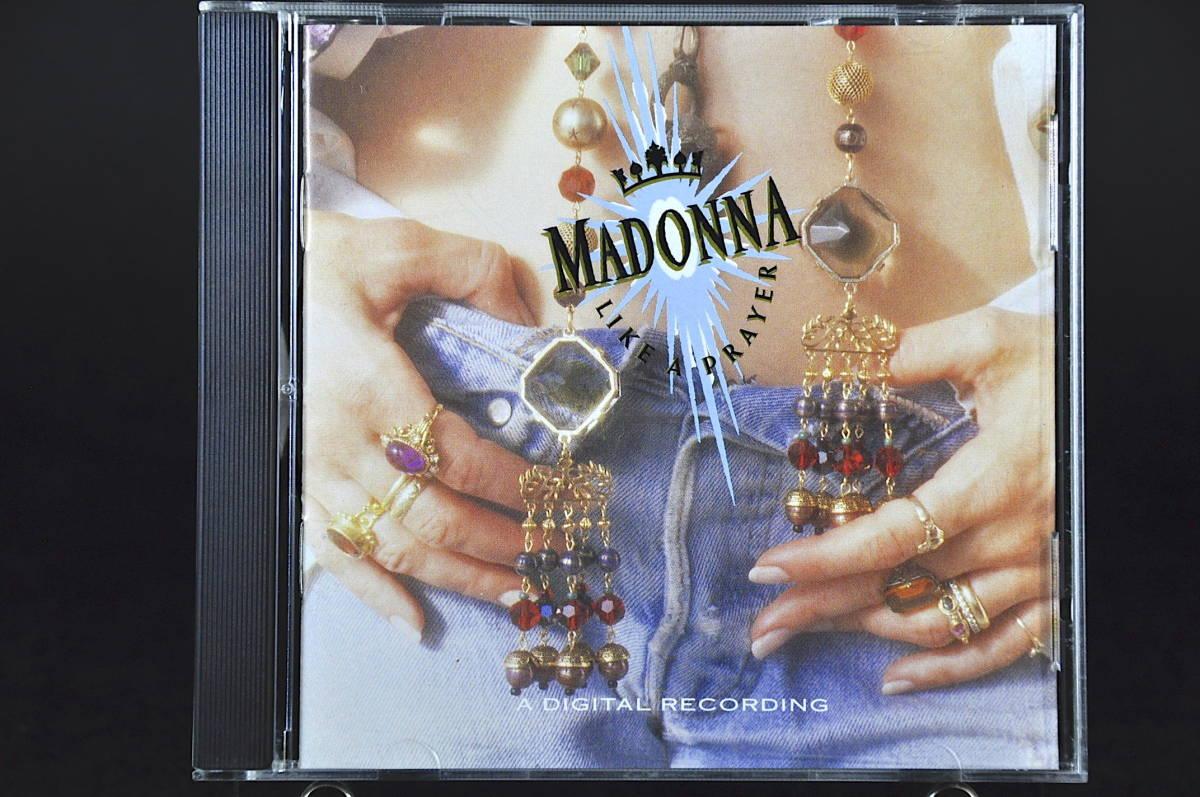 ☆☆☆ MADONNA LIKE A PRAYER / マドンナ ライク・ア・プレイヤー 89年盤 11曲収録 CD アルバムUS輸入盤Sire 9 25844-2 美盤!! ☆☆☆_画像1
