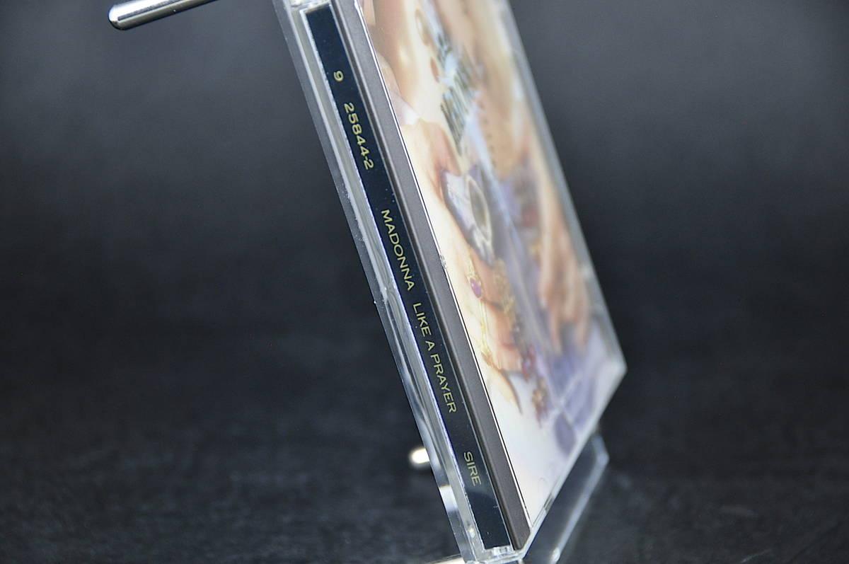 ☆☆☆ MADONNA LIKE A PRAYER / マドンナ ライク・ア・プレイヤー 89年盤 11曲収録 CD アルバムUS輸入盤Sire 9 25844-2 美盤!! ☆☆☆_画像4