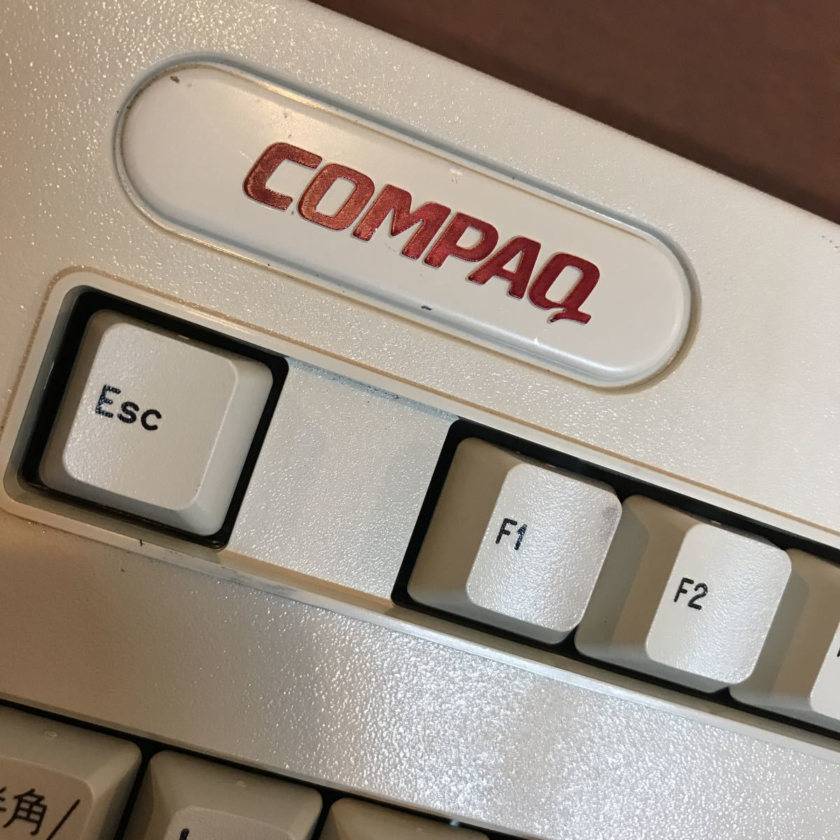 compaq vocalyst keybord made in mexico 美品のジャンク レア品?_画像4