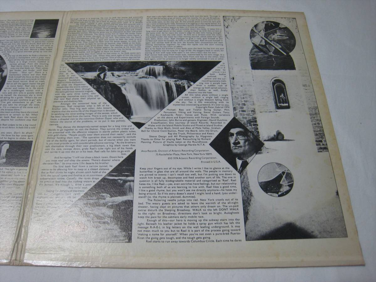 【LP】 GENESIS / THE LAMB LIES DOWN ON BROADWAY US盤 ジェネシス 眩惑のブロードウェイ_画像4