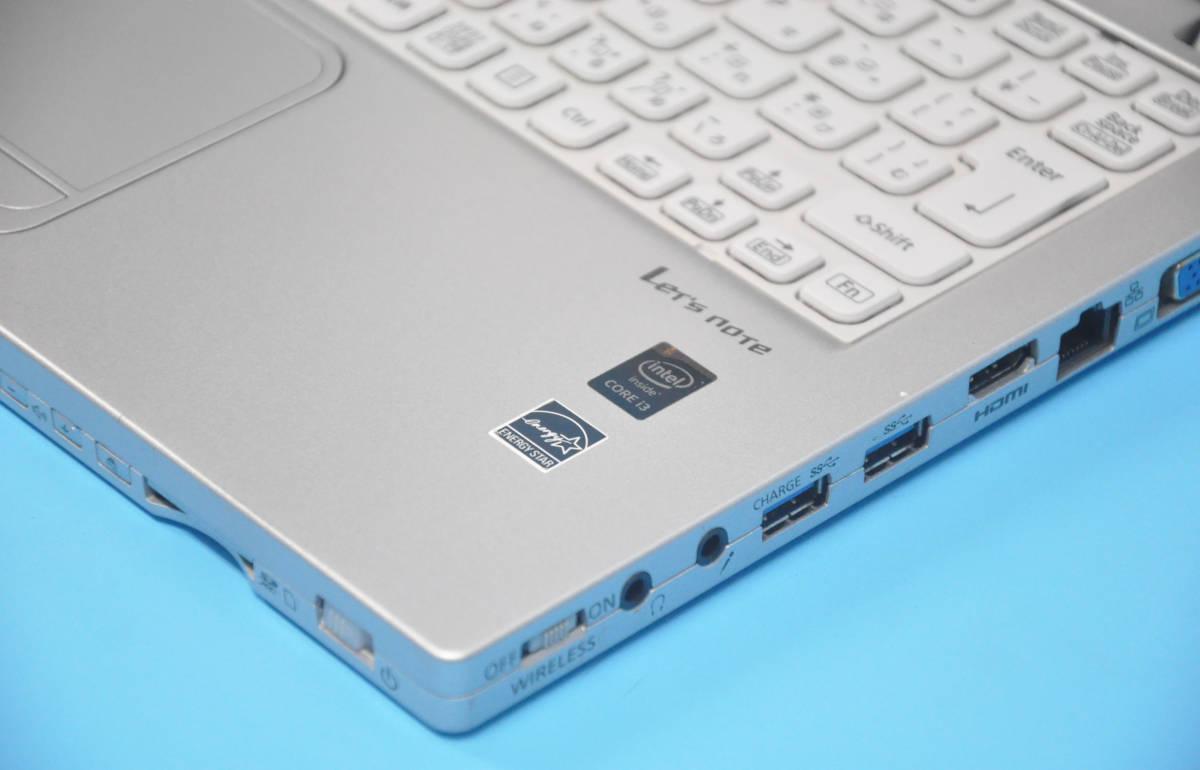 ♪ 良品 使用時間2000H ♪ フルHD タッチパネル Panasonic CF-MX4 Corei3 5010U / メモリ 4GB / SSD128GB / カメラ / Office2016 / Win10_画像6