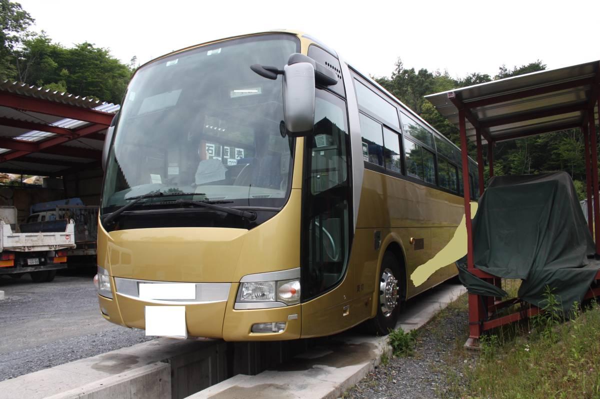 三菱ふそうエアロエース観光バス H20年 定員55人 サロン