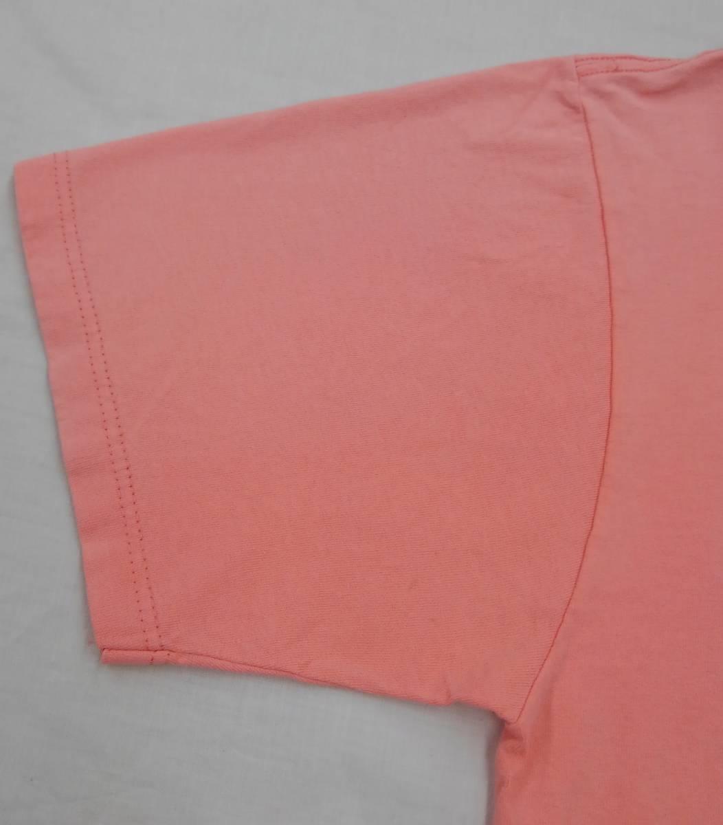 【激レア!!USA製】DISNEY Lサイズ ディズニー ミッキー アメリカ直輸入 Tシャツ ピンク 美品 古着 アメリカ製 #1248-A_画像8