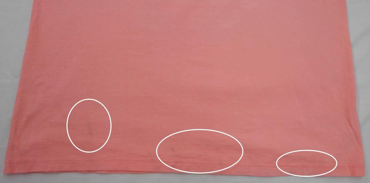 【激レア!!USA製】DISNEY Lサイズ ディズニー ミッキー アメリカ直輸入 Tシャツ ピンク 美品 古着 アメリカ製 #1248-A_画像10