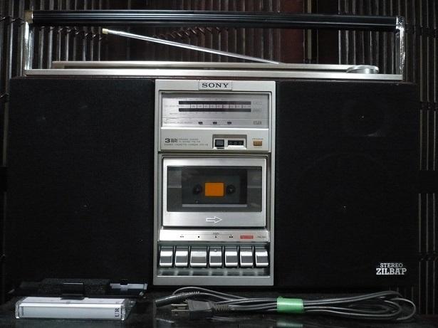 Винтаж SONY CFS-V8 高級ステレオラジカセ 整備品 美品_画像2