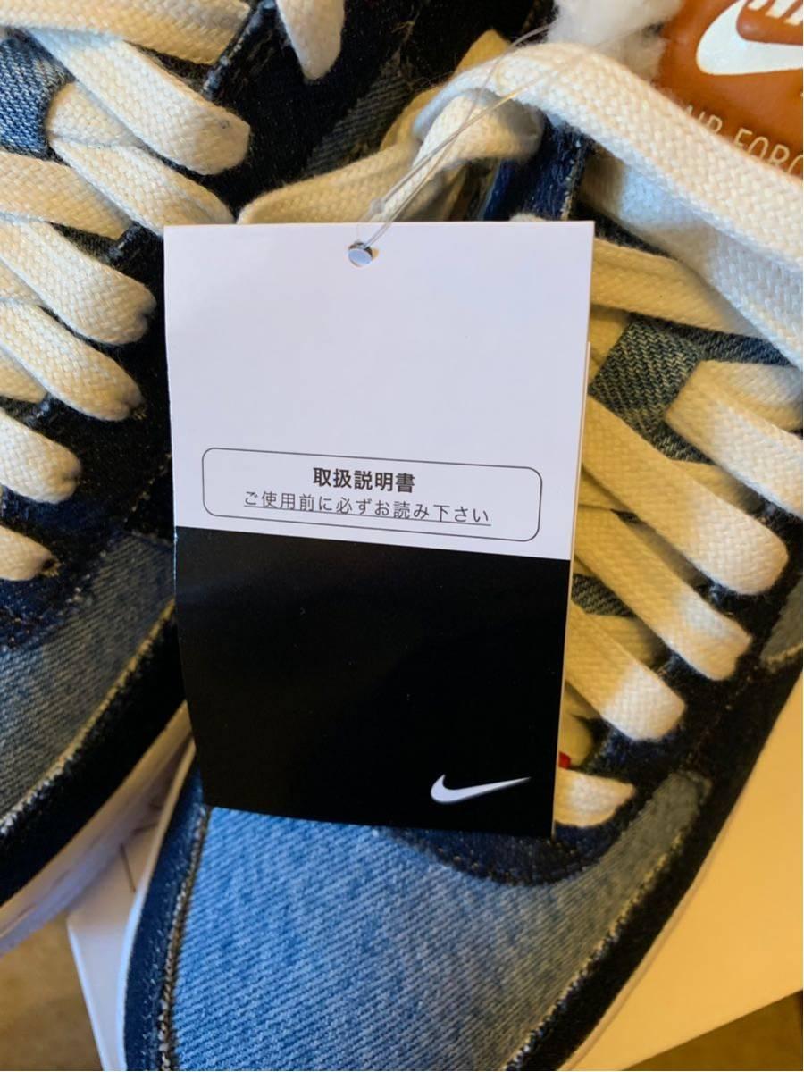 28.5cm Nike Air Force 1 Low エアフォース1 ロー Nike by you x LEVI'S リーバイス ナイキ NIKE ID デニム denim_画像7
