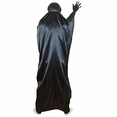 ■複数セール■ おひとり様1点まで! 千と千尋の神隠し コスプレ カオナシ (衣装、黒マスク、紫マスク、手袋) 4点セット サイズL サイズM_画像5