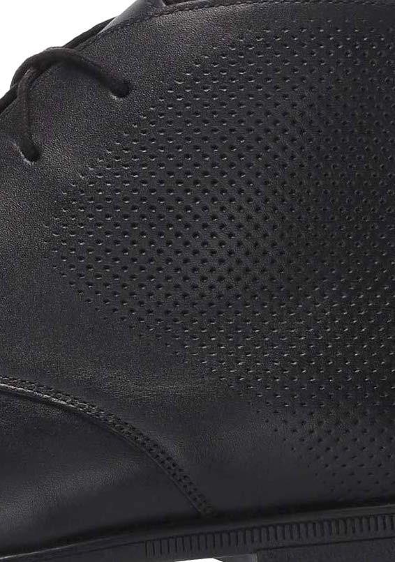 Clarks 27.5cm レースアップ ブラック 黒 レザー 革 フォーマル サイドゴア ブローグ ビジネス スーツ スリッポン スニーカー H287_画像8