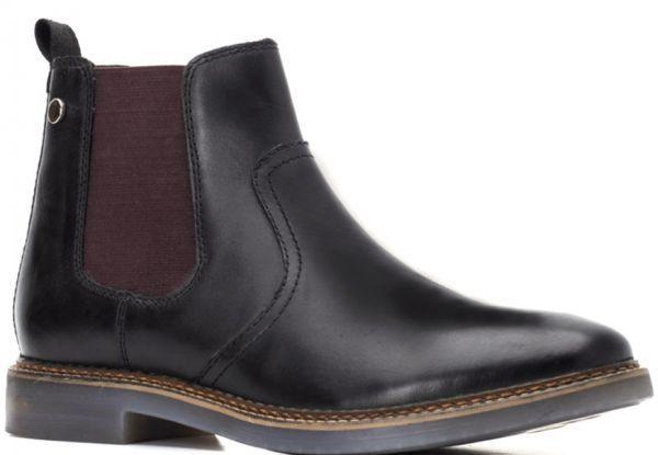 Base London 29cm ブーツ チェルシー ブラック 黒 レザー 革 サイドゴア プレーン ビジネス スニーカー チャッカ ビジネス H289_画像1