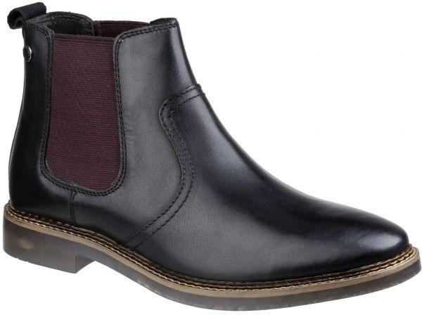 Base London 29cm ブーツ チェルシー ブラック 黒 レザー 革 サイドゴア プレーン ビジネス スニーカー チャッカ ビジネス H289_画像8