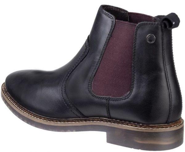 Base London 29cm ブーツ チェルシー ブラック 黒 レザー 革 サイドゴア プレーン ビジネス スニーカー チャッカ ビジネス H289_画像6