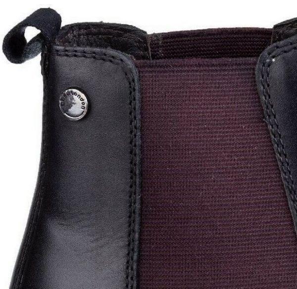 Base London 29cm ブーツ チェルシー ブラック 黒 レザー 革 サイドゴア プレーン ビジネス スニーカー チャッカ ビジネス H289_画像4