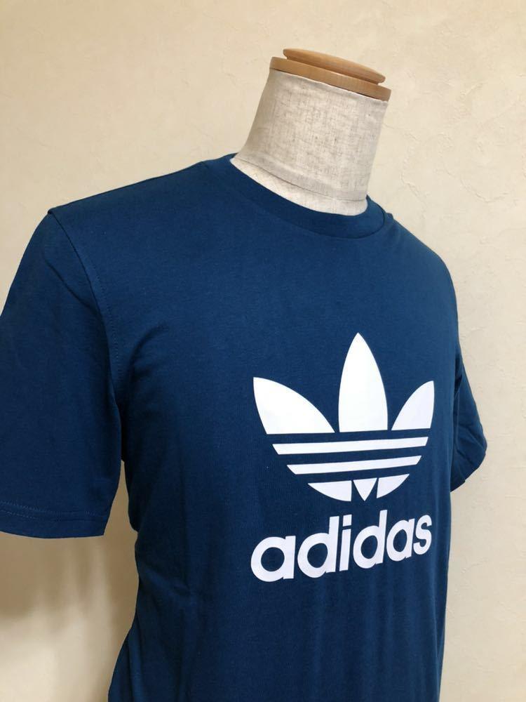 【新品】 adidas originals TREFOIL TEE アディダス オリジナルス トレフォイル ビッグロゴ Tシャツ サイズO 半袖 LEGMAR DV1603_画像7