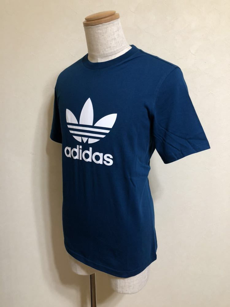 【新品】 adidas originals TREFOIL TEE アディダス オリジナルス トレフォイル ビッグロゴ Tシャツ サイズO 半袖 LEGMAR DV1603_画像8