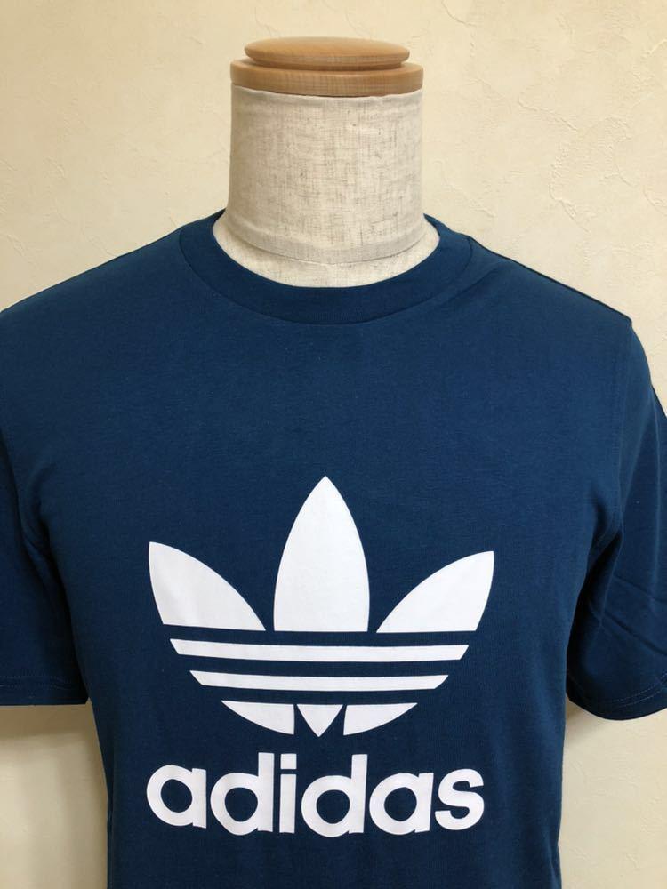 【新品】 adidas originals TREFOIL TEE アディダス オリジナルス トレフォイル ビッグロゴ Tシャツ サイズO 半袖 LEGMAR DV1603_画像3