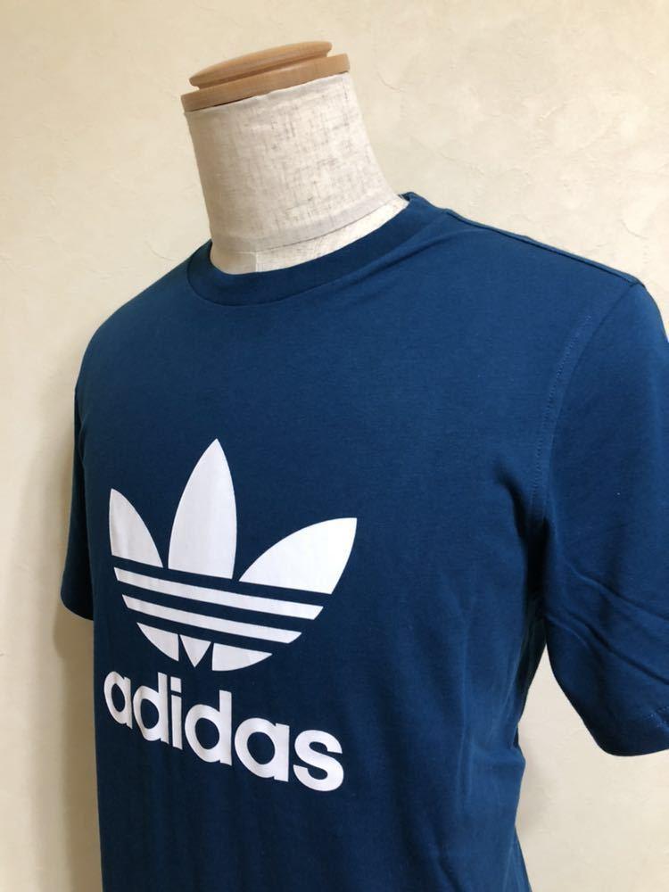 【新品】 adidas originals TREFOIL TEE アディダス オリジナルス トレフォイル ビッグロゴ Tシャツ サイズO 半袖 LEGMAR DV1603_画像9