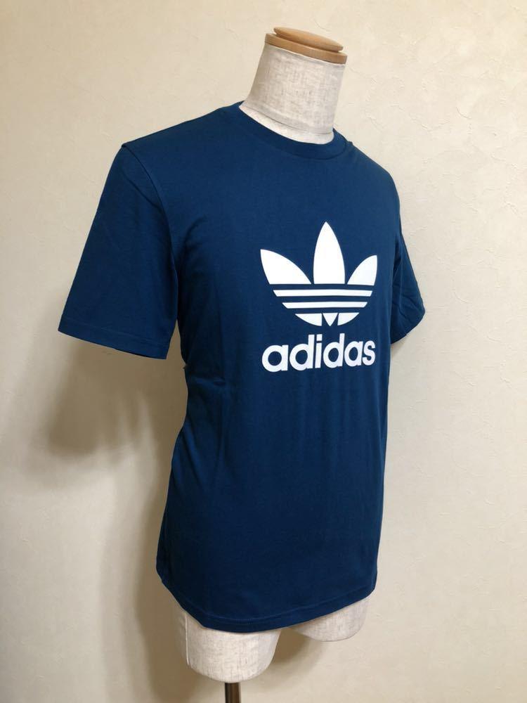 【新品】 adidas originals TREFOIL TEE アディダス オリジナルス トレフォイル ビッグロゴ Tシャツ サイズO 半袖 LEGMAR DV1603_画像6