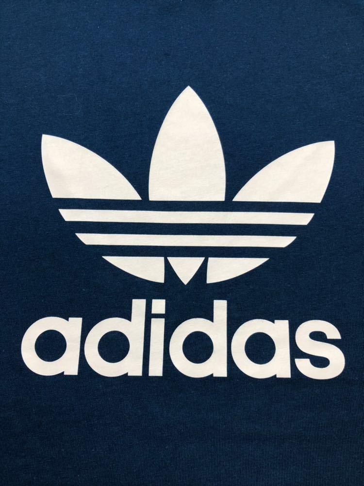 【新品】 adidas originals TREFOIL TEE アディダス オリジナルス トレフォイル ビッグロゴ Tシャツ サイズO 半袖 LEGMAR DV1603_画像10