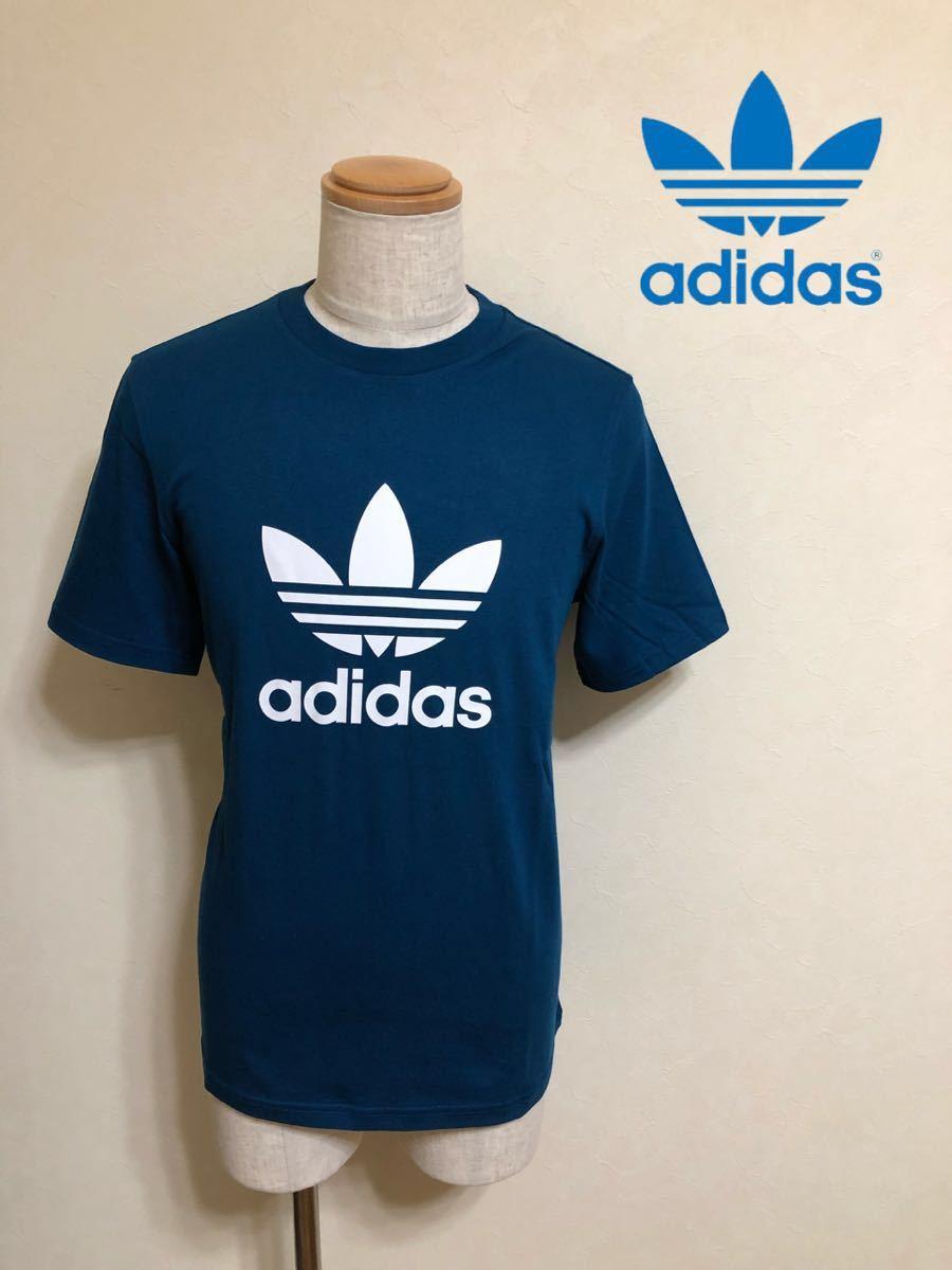 【新品】 adidas originals TREFOIL TEE アディダス オリジナルス トレフォイル ビッグロゴ Tシャツ サイズO 半袖 LEGMAR DV1603_画像1