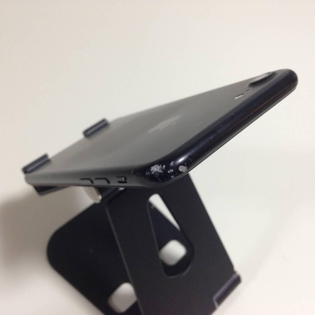 iPhone7 SoftBank 128GB ブラック i7-S-0987_画像5