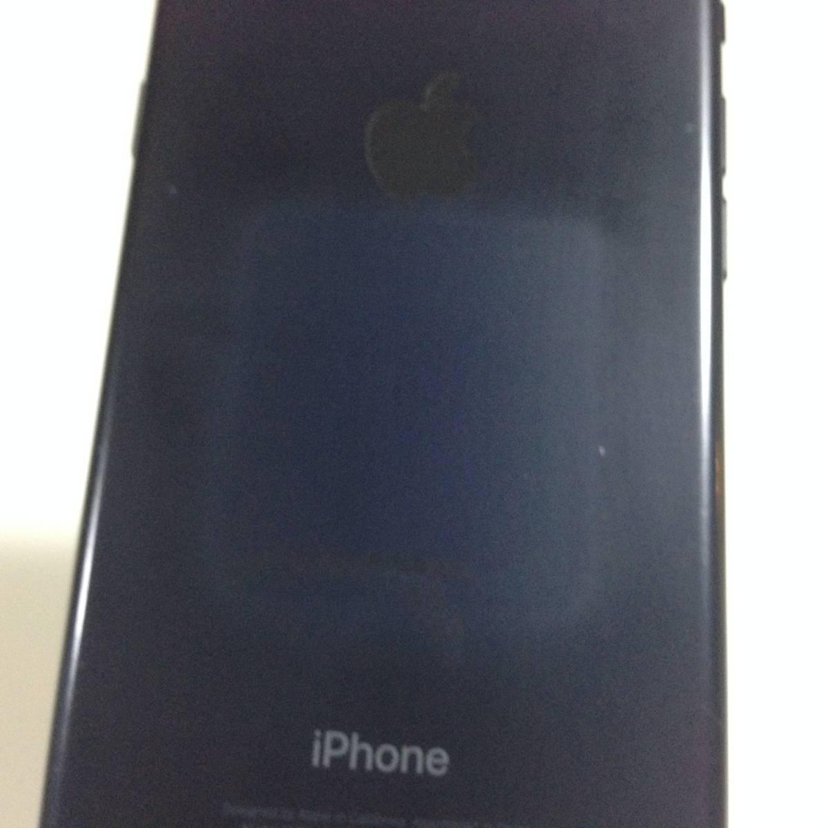 iPhone7 SoftBank 128GB ブラック i7-S-0987_画像3