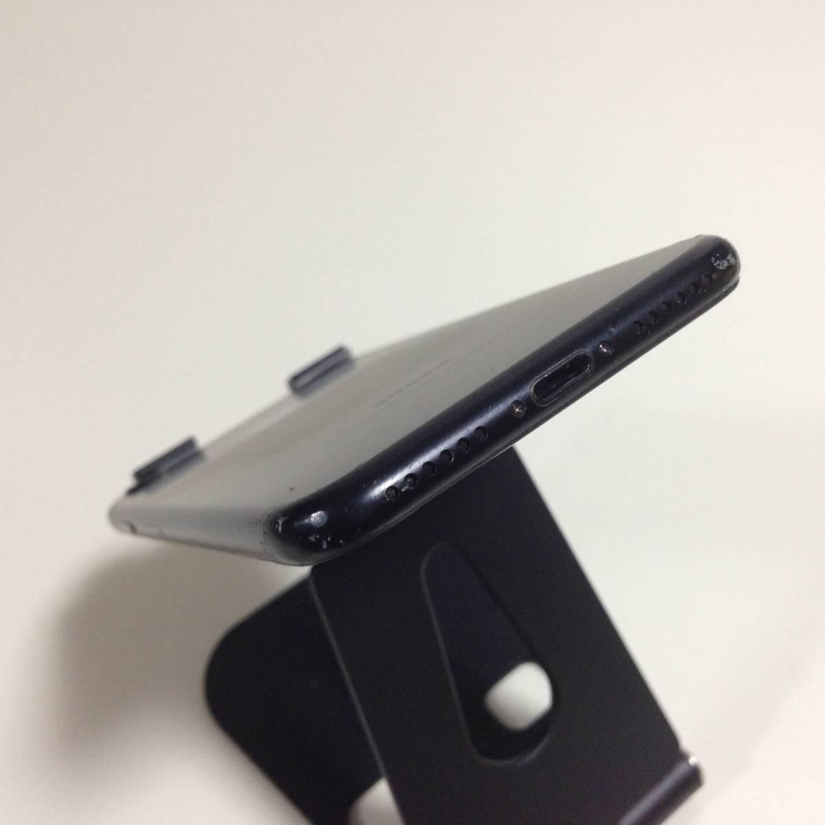 iPhone7 SoftBank 128GB ブラック i7-S-0987_画像6