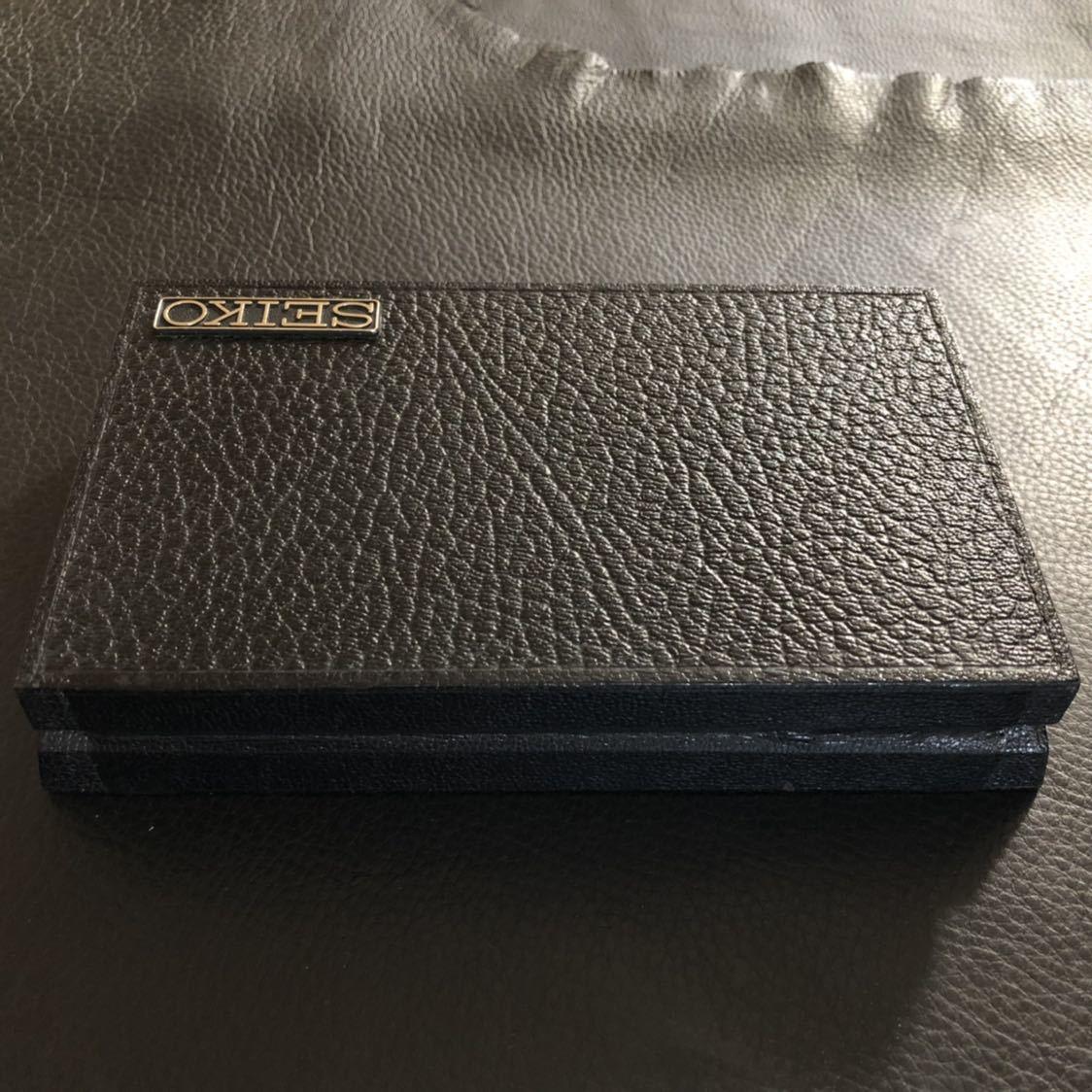 美品 SEIKO クロノメーター専用 腕時計化粧箱 当時物オリジナル品(外箱、敷地シート無し)_画像8