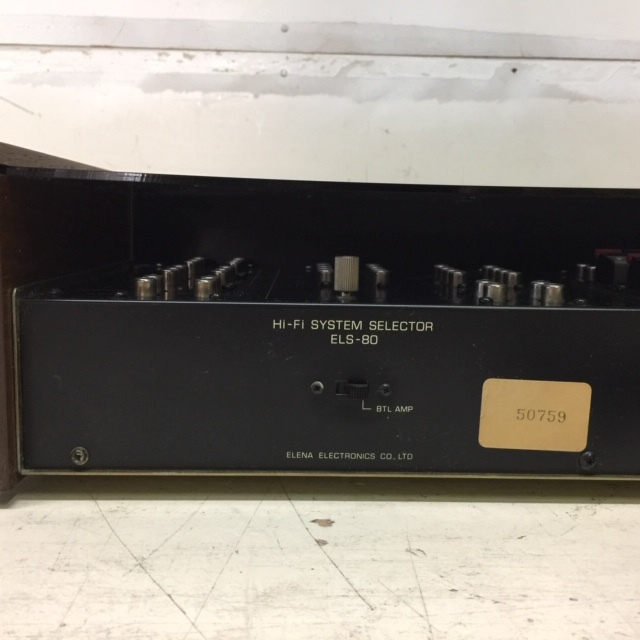 ELENA ELS-80A Hi-Fi System Selector システムセレクター _画像8