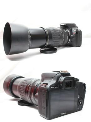 ★【新品級 ダブルレンズ スターターセット】 Canon EOS Kiss X7 ★ EF-S18-55mm II USM EF100-300mm USM ★豪華付属品 SD・取説つき_画像8