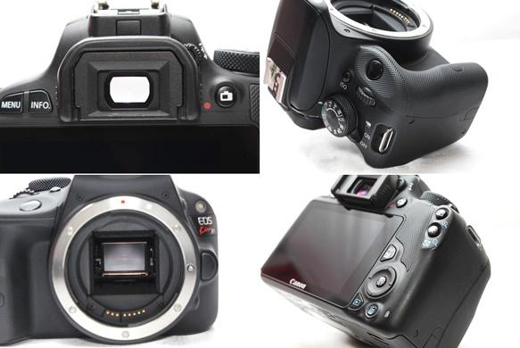 ★【新品級 ダブルレンズ スターターセット】 Canon EOS Kiss X7 ★ EF-S18-55mm II USM EF100-300mm USM ★豪華付属品 SD・取説つき_画像6