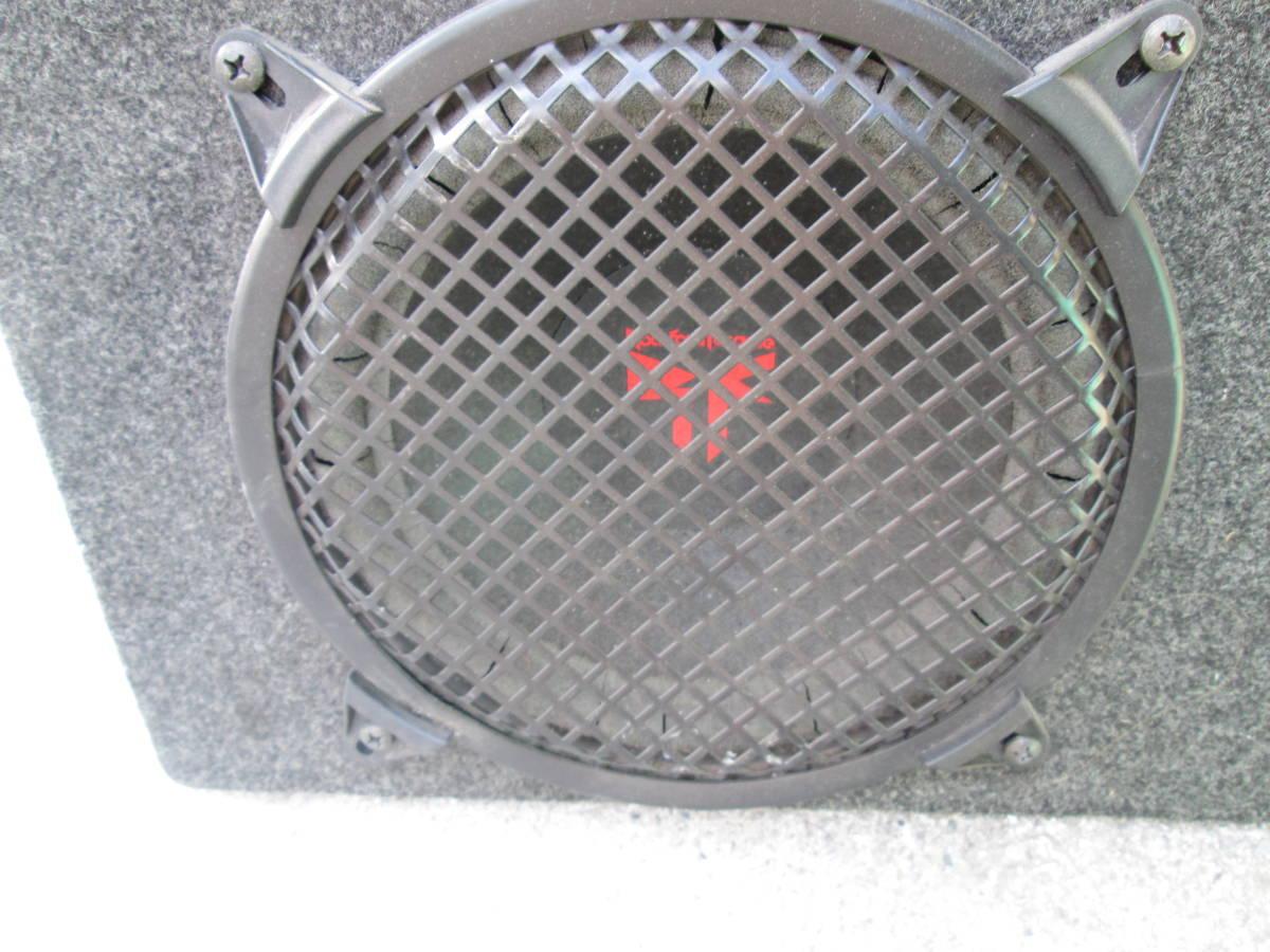 在庫処分!ロックフォード★ROCKFORDサブウーファー ウーハーボックス+TEKLINE300Wパワーアンプセット!低音重音スピーカー☆中古ジャンク品_画像3