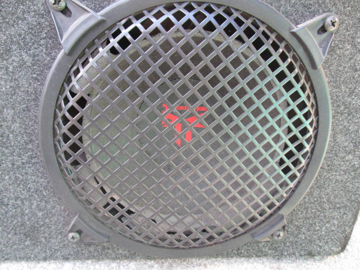在庫処分!ロックフォード★ROCKFORDサブウーファー ウーハーボックス+TEKLINE300Wパワーアンプセット!低音重音スピーカー☆中古ジャンク品_画像4