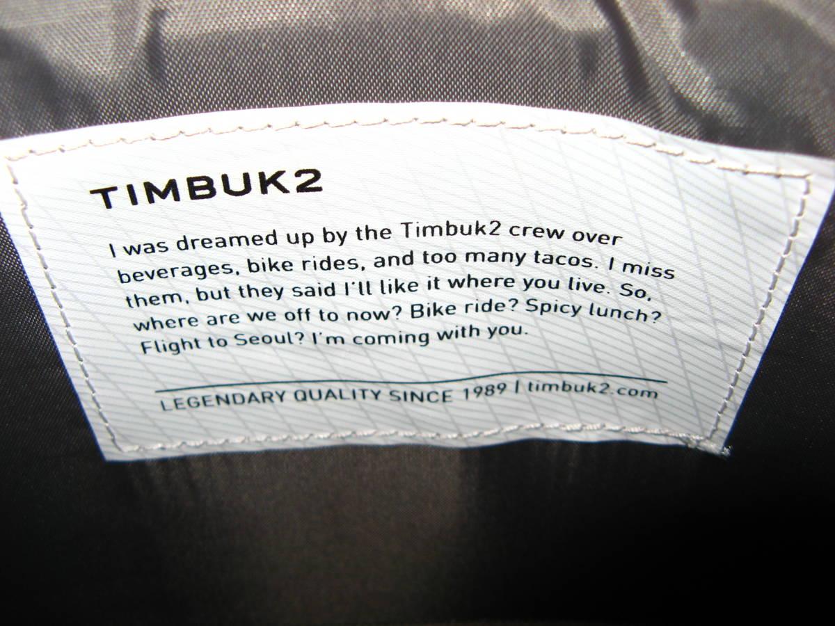 TIMBUK2/ティンバック2 防水リュック/メッセンジャーバッグ 未使用品_画像9