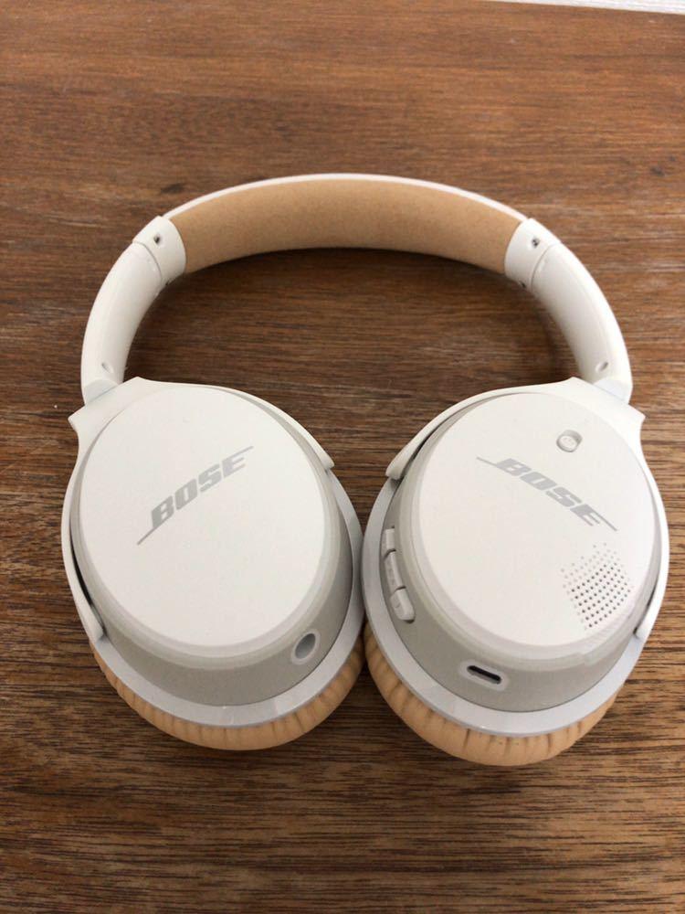 最終値下げ!【ほぼ新品】Bose SoundLink wireless headphones II Bluetooth ワイヤレスヘッドホン ボーズ ヘッドフォン_画像2