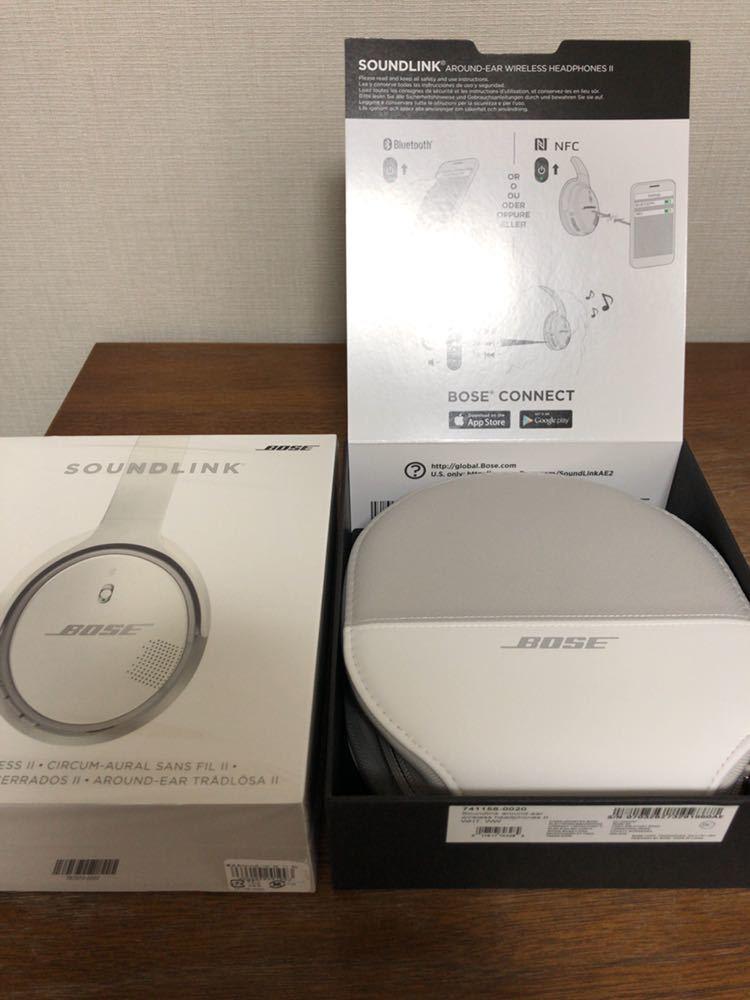 最終値下げ!【ほぼ新品】Bose SoundLink wireless headphones II Bluetooth ワイヤレスヘッドホン ボーズ ヘッドフォン_画像5