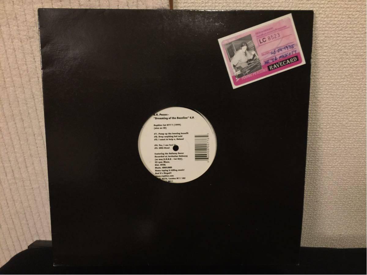 B.R. Posse - Dreaming Of The Bassline E.P. ( techno house minimal rephlex aphex twin afx テクノ ハウス ミニマル )_画像2