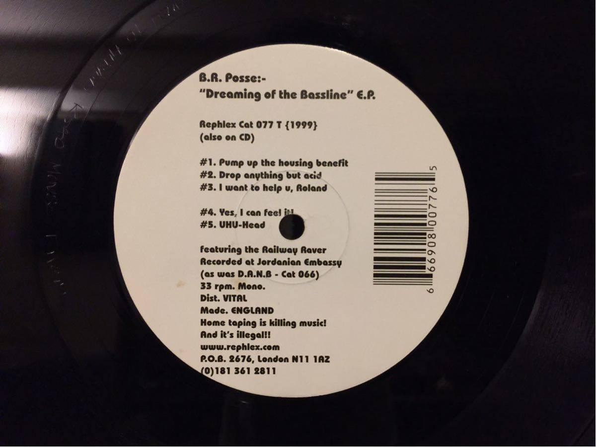 B.R. Posse - Dreaming Of The Bassline E.P. ( techno house minimal rephlex aphex twin afx テクノ ハウス ミニマル )_画像3