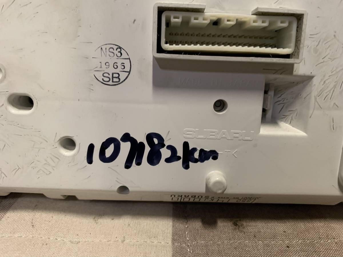 送料無料 RN1/2 ステラカスタム 純正スピードメーター中古 タコメーター付き 107182km_画像5