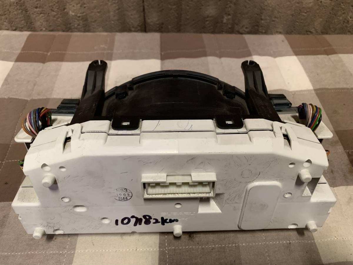 送料無料 RN1/2 ステラカスタム 純正スピードメーター中古 タコメーター付き 107182km_画像6
