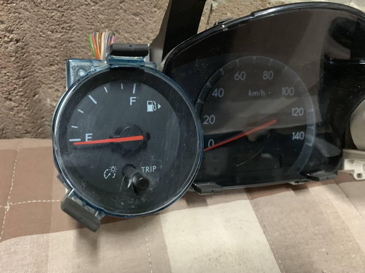 送料無料 RN1/2 ステラカスタム 純正スピードメーター中古 タコメーター付き 107182km_画像2