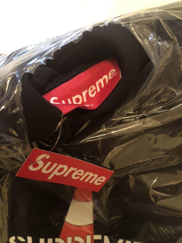 新品 SUPREME 19AW Week1 希少 XL Cone Hooded Sweatshirt Black シュプリーム パーカー ブラック コーン ロゴ_画像4