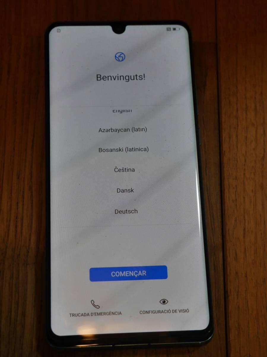 【美品】Huawei P30 Pro (VOG-L29) 8GB/256GB Dual SIM (Aurora/オーロラ) SIMフリー [並行輸入品]_画像5