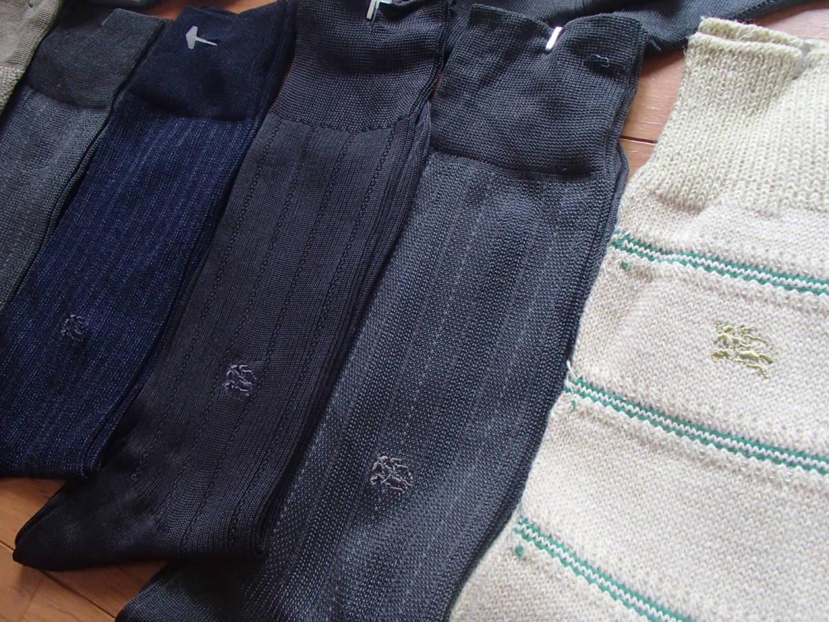 新品★バーバリー★メンズソックス15足セット福袋♪ ブランド 靴下 ビジネス_画像4