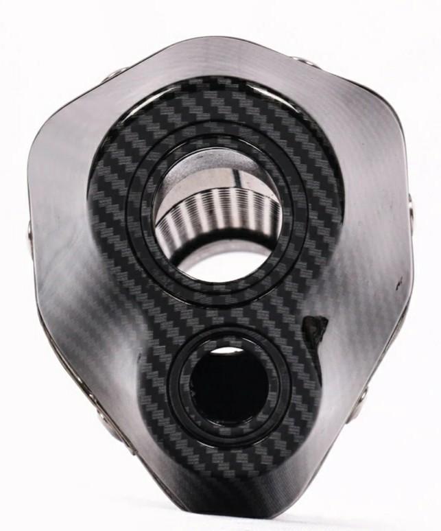 ★全国一律 送料2000円★ カーボンマフラー 差込径51mm スリップオン アルミ製マフラー 付属品付 CB XJR ZRX ZEPHYR ZZR GPZ YZF-R1 R6 R25_画像2