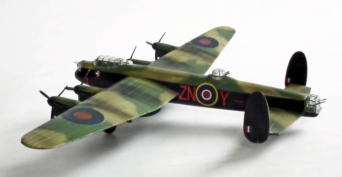 1/96 英 アブロ・ランカスター B1重爆撃機 106戦隊長機 完成品_画像7